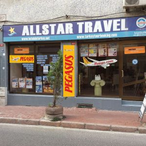 Allstar Travel Turkey istanbul office frontview