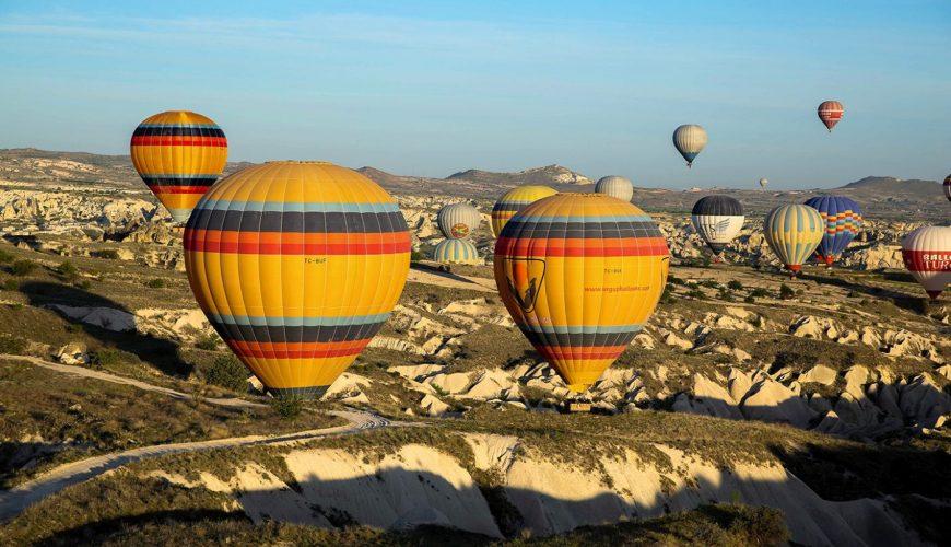 Cappadocia hot air balloon ride experience
