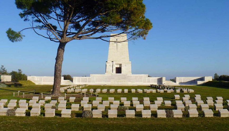 Gallipoli Lone pine cemetery and memorial