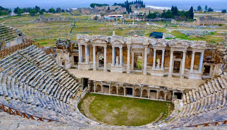 Pamukkale Hierapolis Amphitheatre