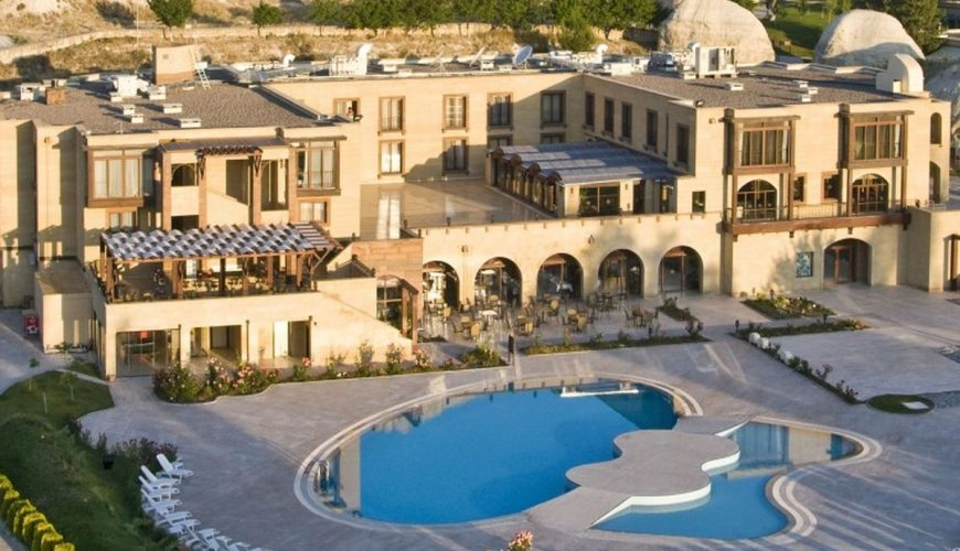 Tourist hotel cappadocia nevsehir turkey