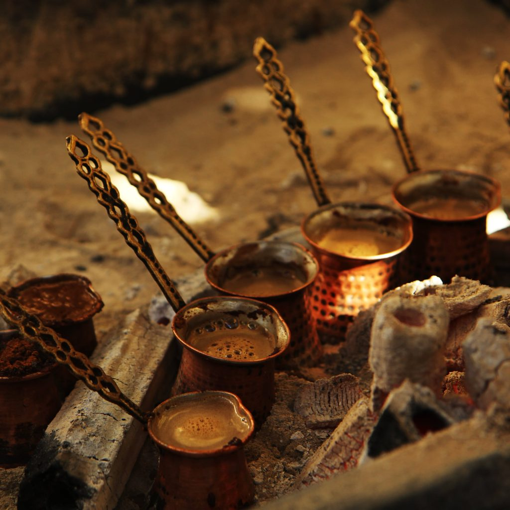 turkish coffee cooking